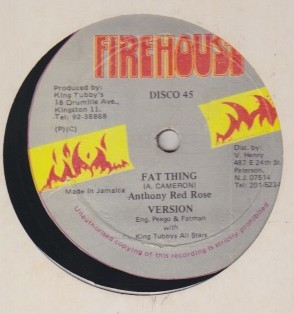 Anthony Red Rose / King Kong - Fat Thing / Step On My Corn