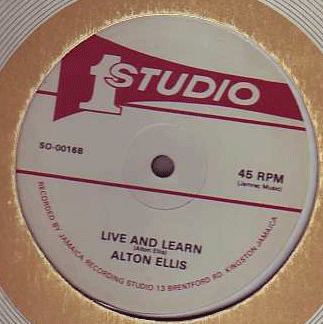 Alton Ellis / Heptones - Live & Learn / Lets Try a.k.a. YOUNG GENERATION