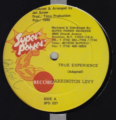 Barrington Levy - True Experience