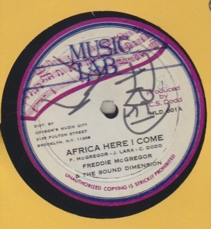 Freddie McGregor / Willie Williams - Africa Here I Come / Jah Righteous Plan