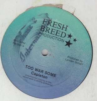 Capleton / Super Beagle - Too Warsome / Suffering Time