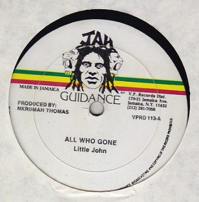 Little John / Lee Van Cliff - All Who Gone / Chalice To Chalice