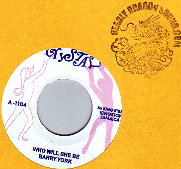 Barry York / Bobby Ellis - Who Will She Be / Now We Know