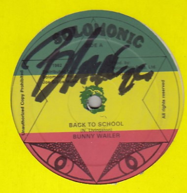 Bunny Wailer - Back To School