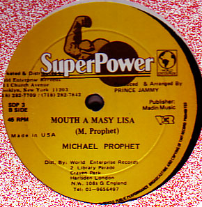 Michael Prophet - Mouth A Masy Liza / No Run Get You Man