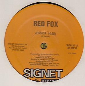 Red Fox - Jessica / Crab Louse