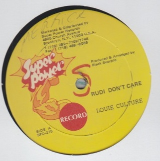Louie Culture - Rudie Dont Care