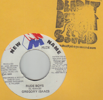 Gregory Isaacs - Rude Boys