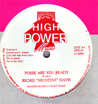 Richie Davis - Possie Are You Ready / The Way I Feel