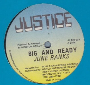 Junie Ranks - Big & Ready / No Pretty Man