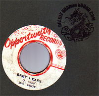Joe White - Baby I Care / Aint Misbehaving