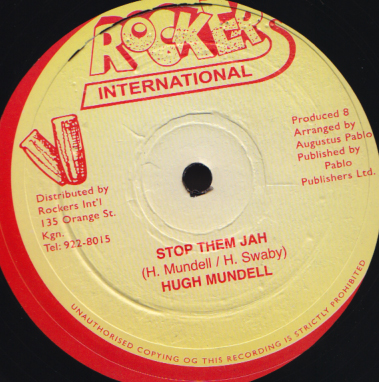 Hugh Mundell - Stop Them Jah / Black Man Foundation