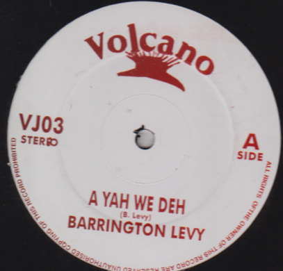 Barrington Levy - A Yah We Deh / Its Not Easy