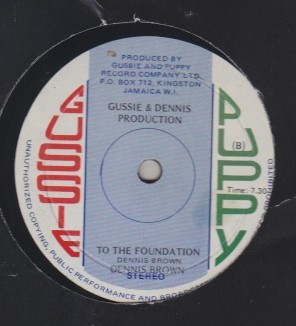 Dennis Brown - To The Foundation / Funny Feelings