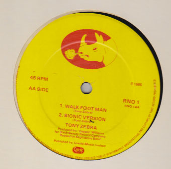 Delroy Melody / Tony Zebra - School Girl / Walk Foot Man