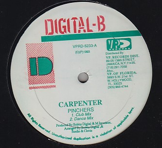 Pinchers / Admiral Bailey - Carpenter / Want Me Body