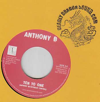 Anthony B / Troublesome - Ten To One / Positive