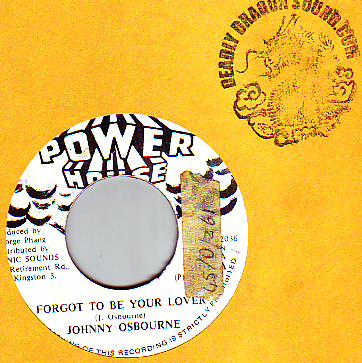 Johnny Osbourne - Forgot To Be Your Lover