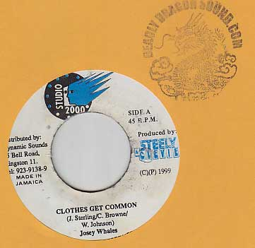 Josey Wales - Clothes Get Common