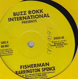 Barrington Spence - Fisherman