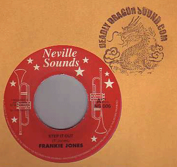 Frankie Jones - Step It Out / Rasta Children