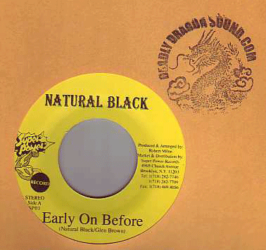 Natural Black - Early On Before