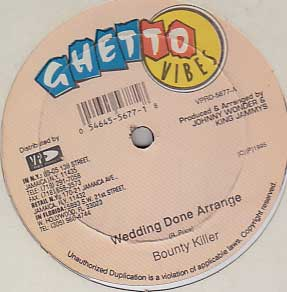 Bounty Killer / Elephant Man & Harry Toddler - Wedding Done Arrange / Fight War