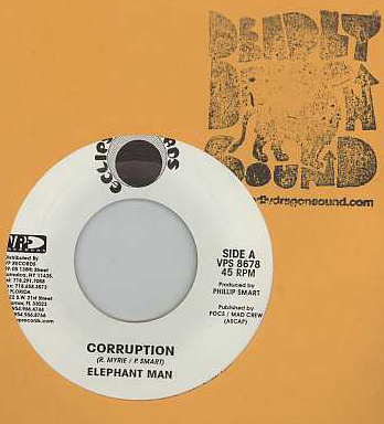 Elephant Man / Razah - Corruption / Unstoppable