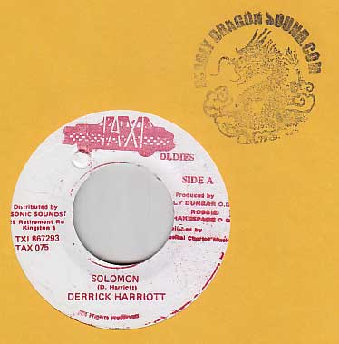 Derrick Harriott - Solomon