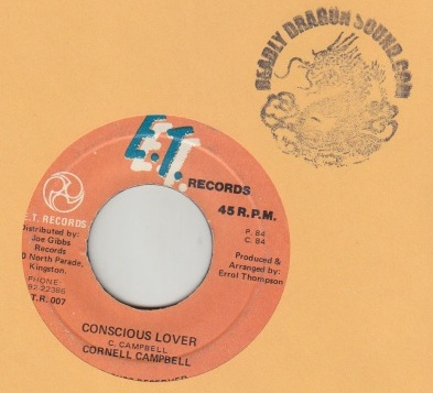 Cornell Campbell - Conscious Lover