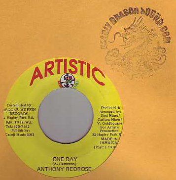Anthony Red Rose - One Day