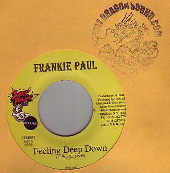 Frankie Paul - Feeling Deep Down