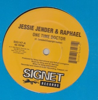 Jesse Jender & Raphael - One Time Doctor / You Dont Care
