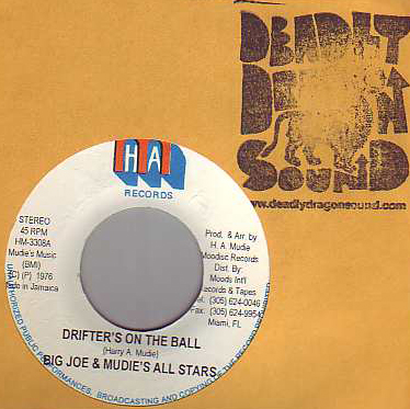 Big Joe & Mudies All Stars - Drifters On The Ball