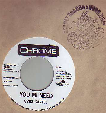 Vybz Kartel / Aidonia - You Mi Need / Chat No Boy