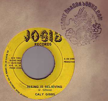 Caly Gibbs - Seeing Is Believing / Ghost Capturer