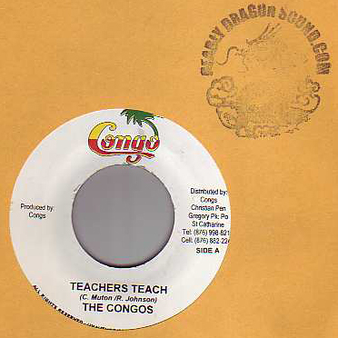 The Congos - Teachers Teach