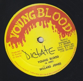 Willard Jones / German - Young Blood / DJ Spirit