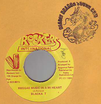 Blacka T - Reggae Music In A Mi Heart