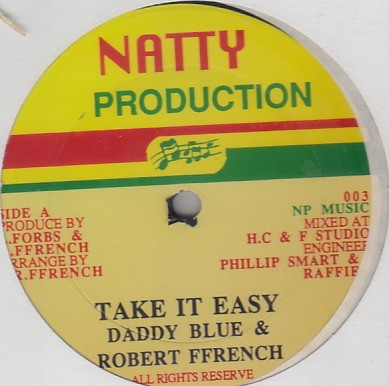 Daddy Blue & Robert Ffrench - Take It Easy