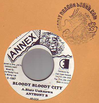 Anthony B - Bloody Bloody City