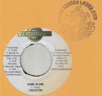 Capleton - Home Alone