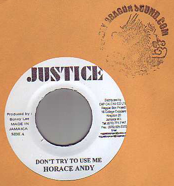 Horace Andy - Dont Try Use Me