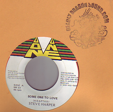 Steve Harper - Some One To Love