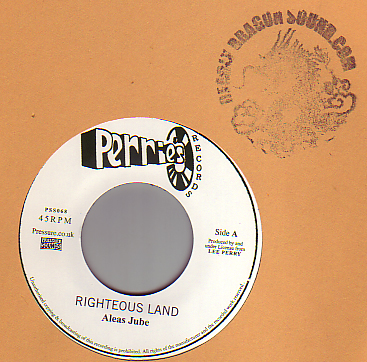 Aleas Jube / The Upsetters - Righteous Land / Righteous Rocking