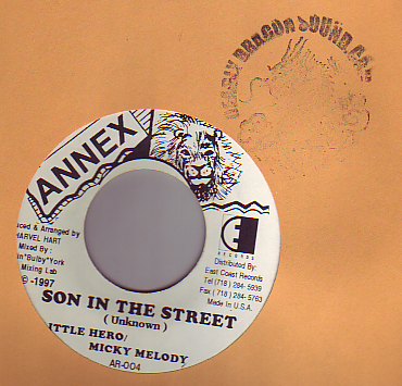 Little Hero & Meeky Melody - Son In The Street