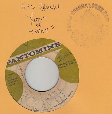 Glen Brown - Youths of Today