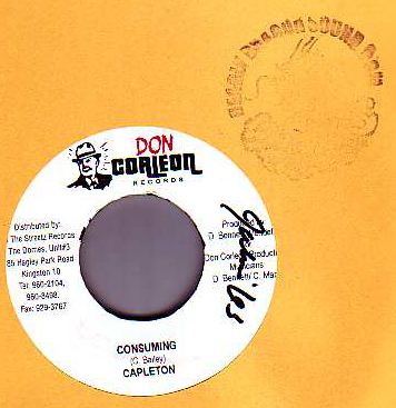 Capleton - Consuming