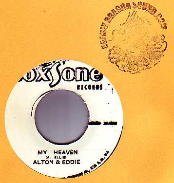 Alton & Eddie / The Charmers - My Heaven / A Long Walk Home