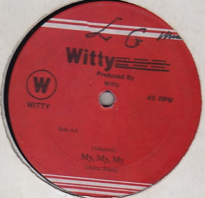 Alton Black / Junior Wilson & Marcia Aitken - My My My / Really Together